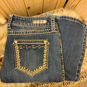 🌵Wrangler Rock 47 Ultra Low Rise Denim Jeans
